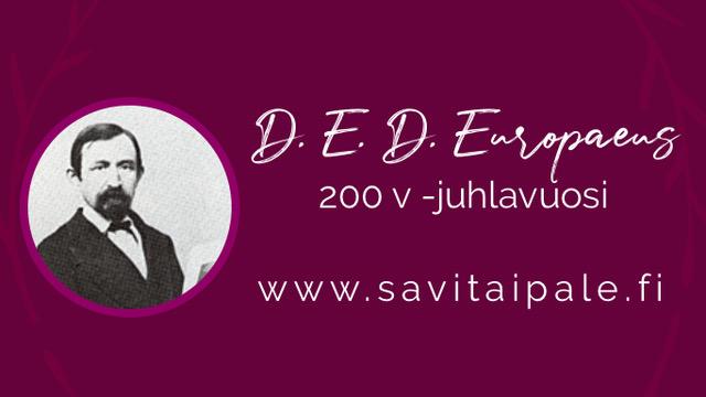 D.E.D. Europaeuksen 200-juhlavuoden mainos.